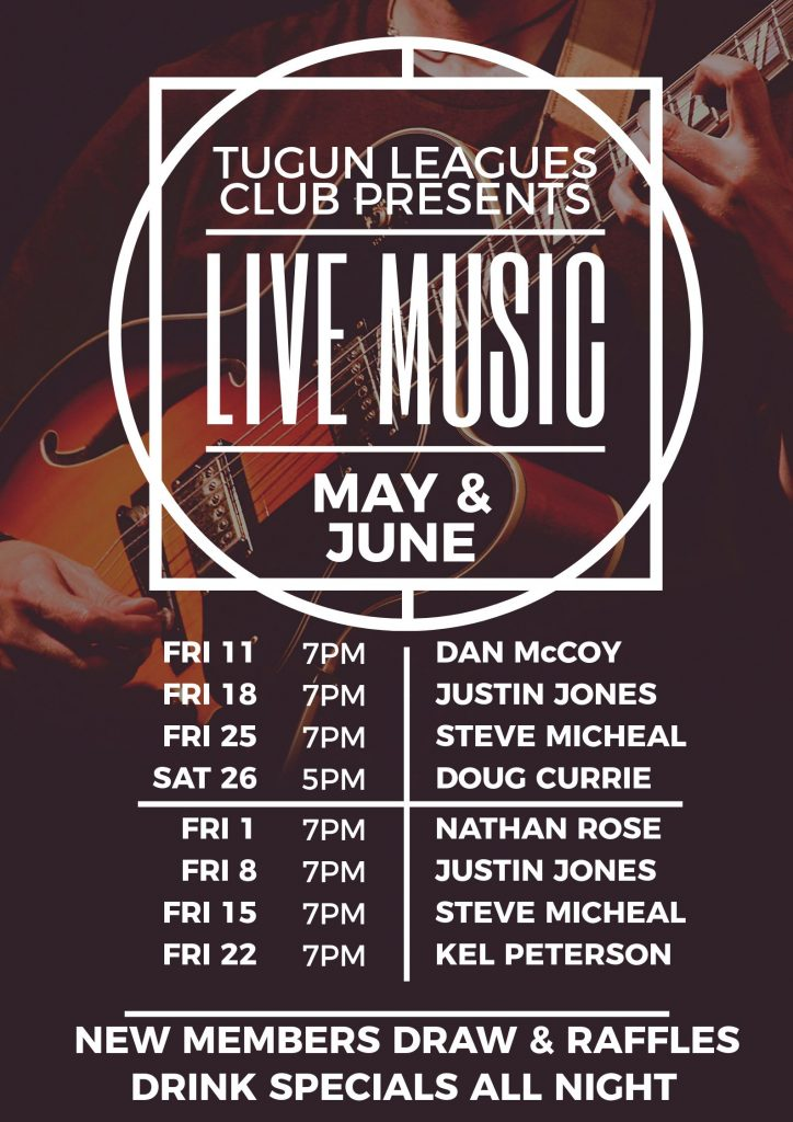 Gig Guide – May & June