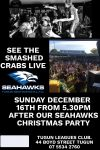 See the Smashed Crabs LIVE