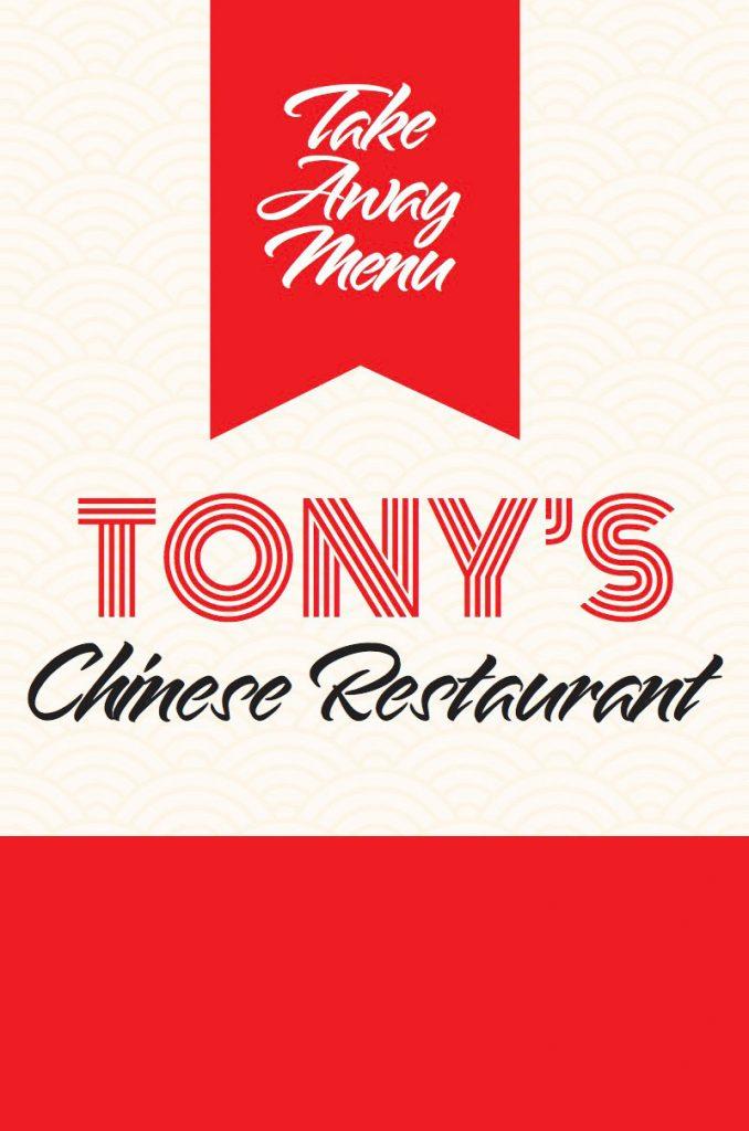 Tonys Restaurant New Menu